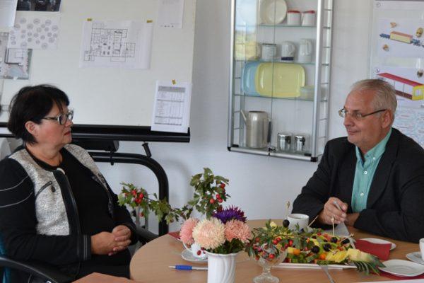 IHK Magdeburg im Gespräch mit der Geschäftsführenden Gesellschafterin Alexandra Krotki