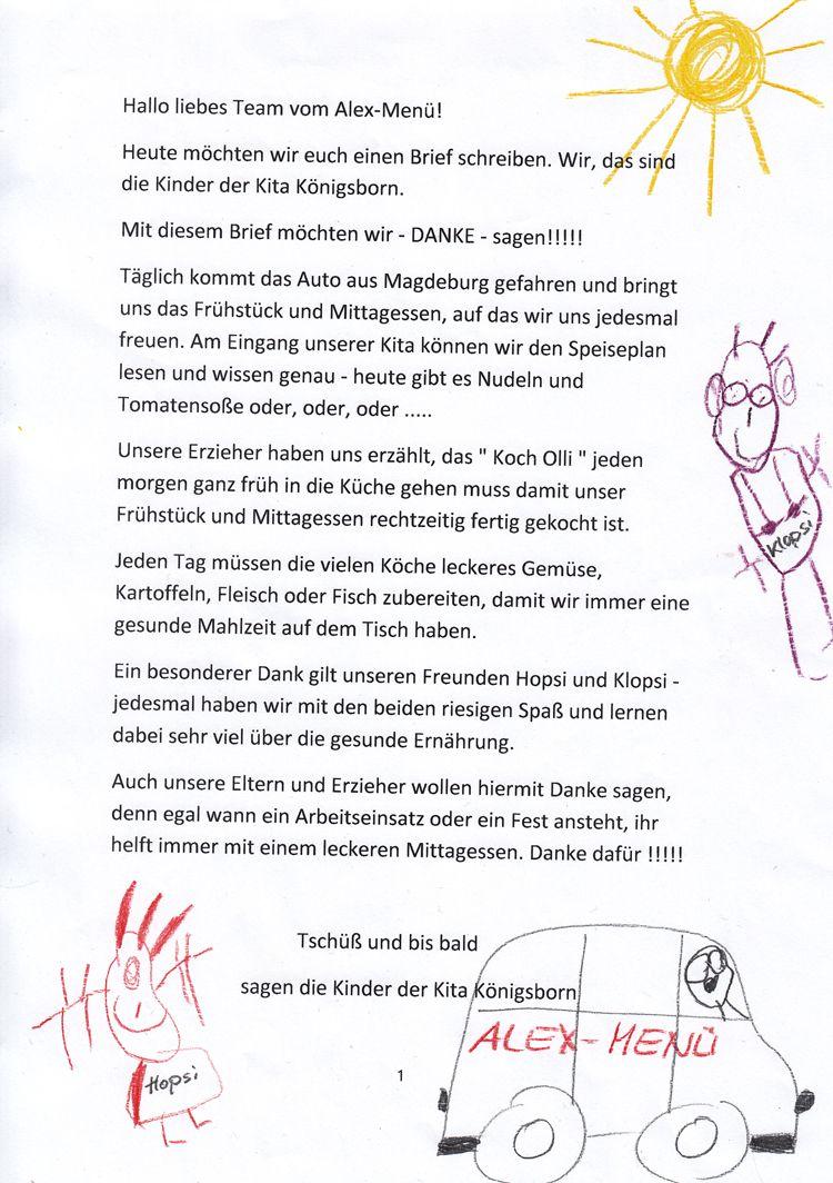 Briefe Von Eltern An Ihre Kinder : Danke an erzieherin krippe bg messianica