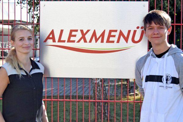 Laura Kabelitz und Leon-Fritz Lüthge starten ihre Ausbildung bei ALEXMENÜ
