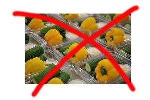 Keine Einzelverpackungen mehr für Gemüse und Obst.