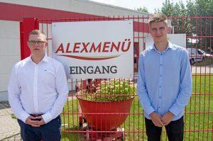 Die neuen Auszubildenen bei ALEXMENÜ