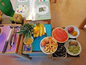 Melone, Ananas, Bananen ... so viele tolle Früchte!