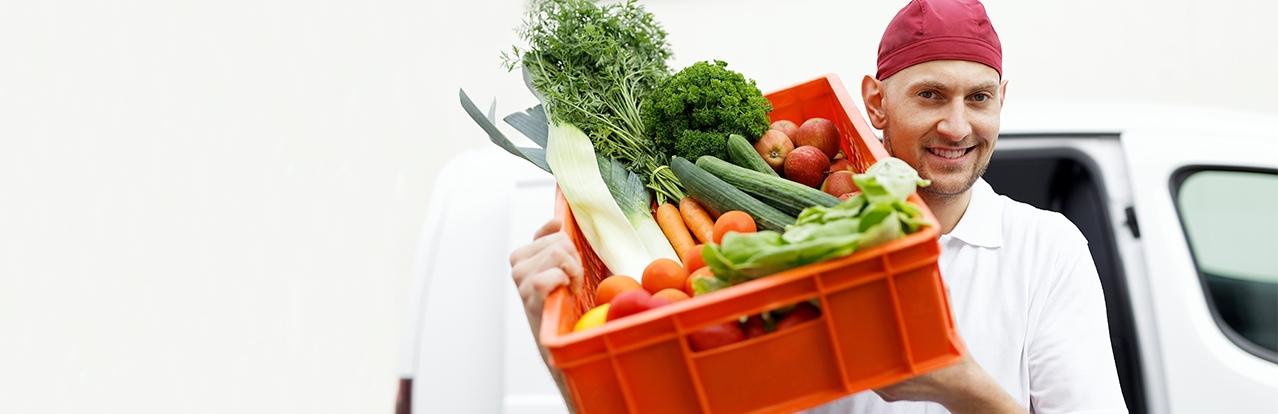 Wir verwenden frische, regionale Zutaten für unsere Menüs.