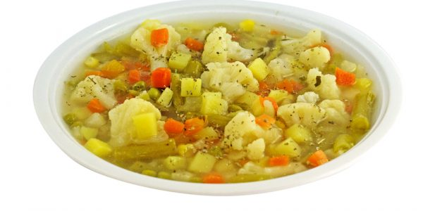 1365 Bunter Gemüsetopf mit Kartoffeleinlage