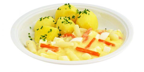 3399 Schwarzwurzel-Eierragout mit Kartoffeln