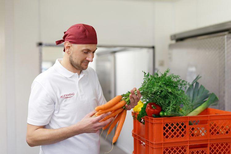 Wir haben den Anspruch saisonale Produkte aus heimischen Anbau zu verwenden.