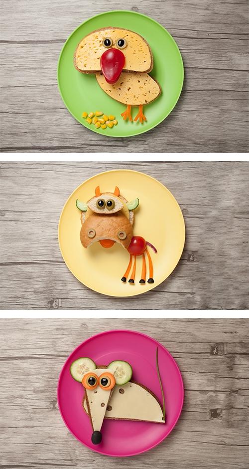 Früh-Starter zeigt den Kindern, wie ein ausgewogenes Frühstück aussehen kann