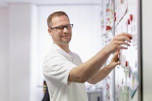 Enrico Möhler arbeitet in der Produktentwicklung