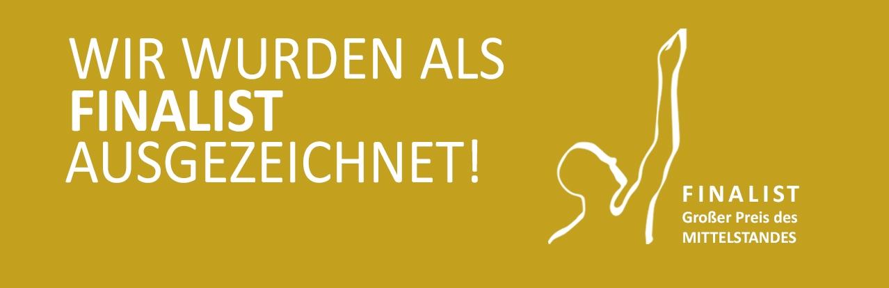 ALEXMENÜ wurde als Finalist ausgezeichnet!