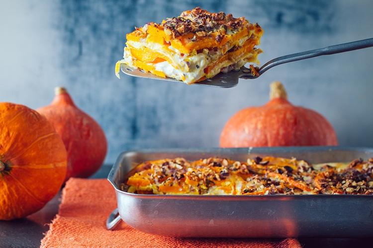 Kürbis-Lasagne, ©JackStock/fotolia