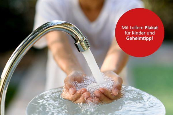Richtig Hände waschen in 5 Schritten © TinPong/fotolia