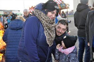 Familienspaß auf dem Weihnachtsmarkt