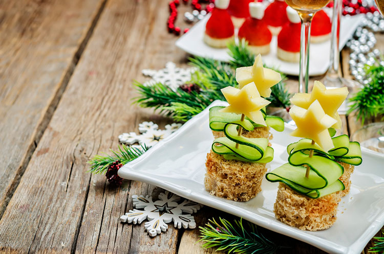 Herzhafte Weihnachtssnacks © nata_vkusidey/Adobe Stock