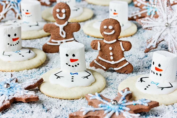 Schmelzender Schneemann-Kekse ©san_ta/fotolia