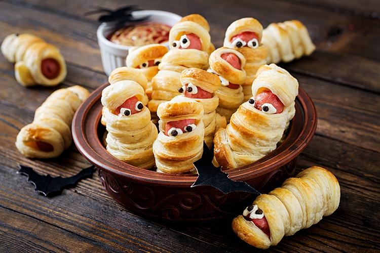 Diese gruseligen Snacks kommen bei jedem Halloween-Fan super an, © timolina/fotolia