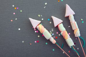 Marshmallow-Rakete Glückskekse ©exclusive-design/Adobe Stock