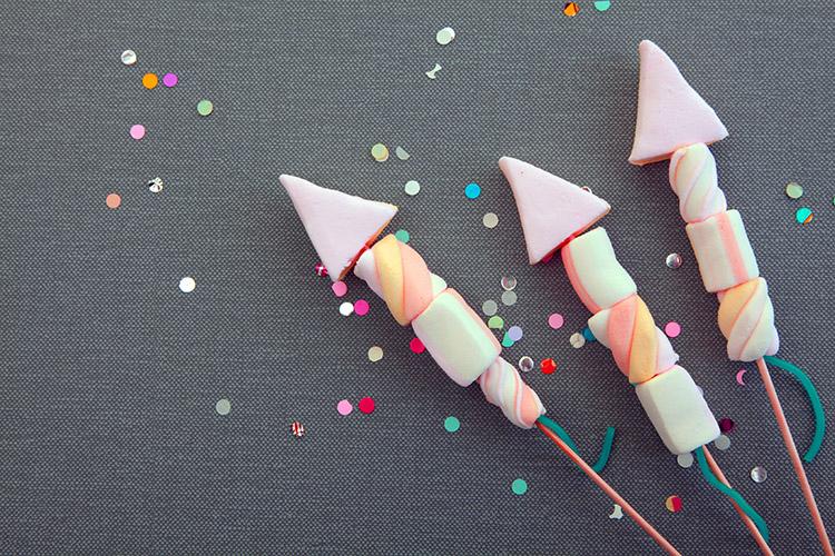Marshmallow-Rakete
