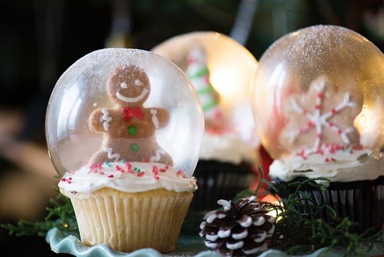 Schneekugel-Muffins © rawpixel.com