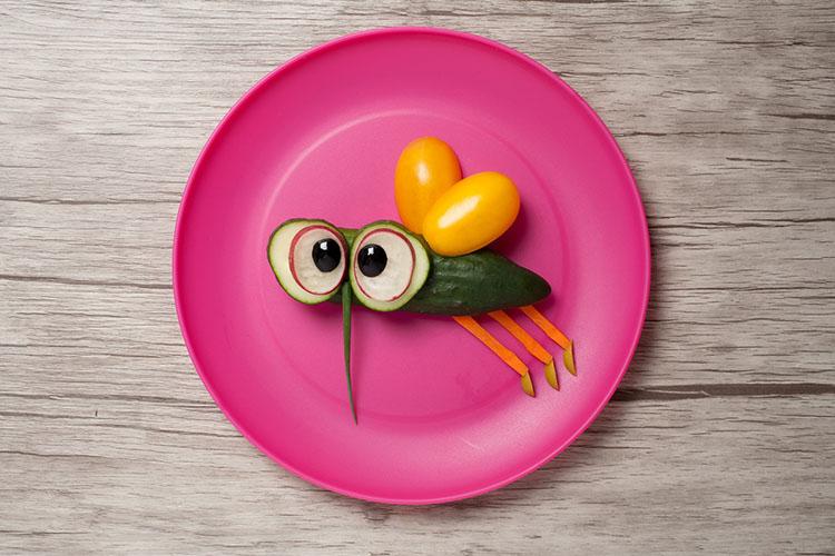 Gemüse-Tiere laden zum (gesunden) Vernaschen ein! ©serg78/Adobe Stock
