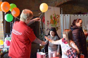 Die ALEXMENÜ Heliumballons sind jedes Jahr ein Highlight.