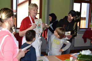 Jedes Kind erhält am Ende des Projektes eine Teilnehmerurkunde