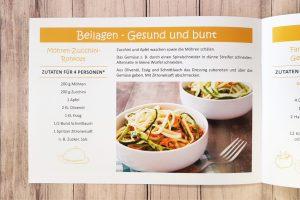 Leckere Beilage: Möhren-Zucchini-Rohkost!