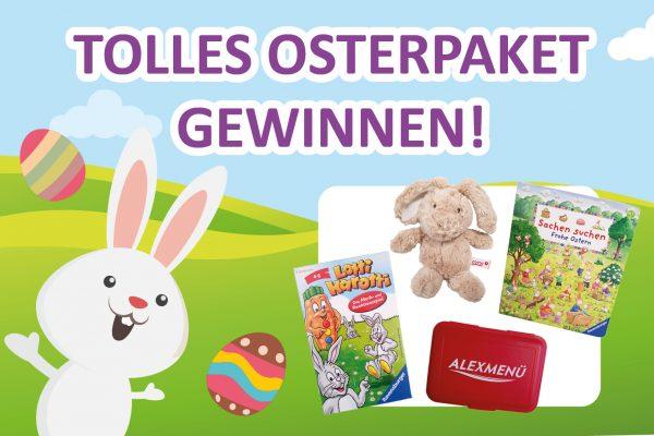 Gleich bei unserem Oster-Gewinnspiel mitmachen. Newsletter-Abonnenten nehmen automatisch mit doppelter Gewinnchance teil!