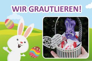 Wir gratulieren der Gewinnerin unseres Osterpaketes!