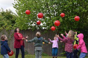 ALEXMENÜ wünscht allen Kindern der KITAWO Kita Bummi einen tollen Kindertag