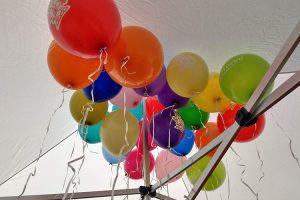 Unser beliebten mit Ballongas gefüllten Luftballons