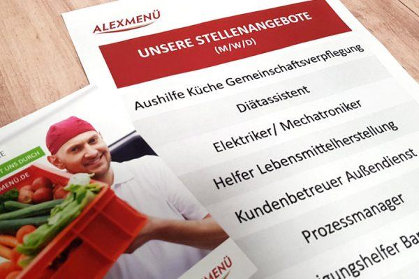 Wir suchen neue Kolleginnen und Kollegen - Bewerben Sie sich jetzt! ©ALEXMENÜ
