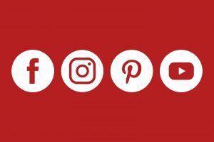 Sie finden uns ab sofort auch auf Facebook, Instagram, Pinterest und YouTube.