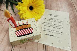 Wir freuen uns, unseren Kundinnen und Kunden vom Mobilen Mittagstisch eine Überraschung zu bereiten.