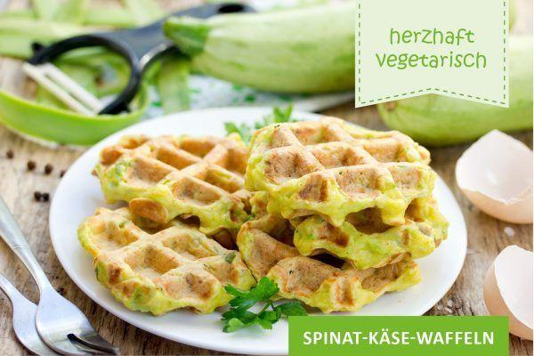 Spinat-Käse-Waffeln ©san_ta/AdobeStock