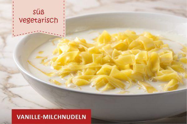 Vanille-Milchnudeln ©Sebastian Radu/Adobe Stock