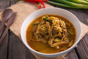 Veganes Curry mit Jackfrucht