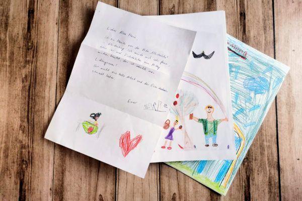 Brief von Moritz