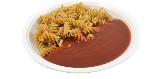 Vollkornnudeln mit Tomatensauce