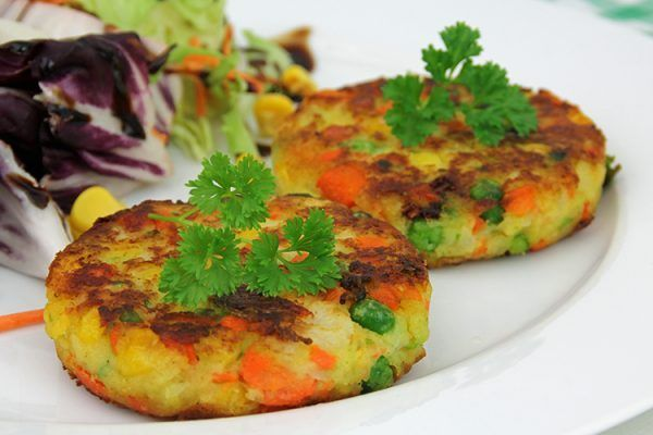 Gemüse-Kartoffeltaler
