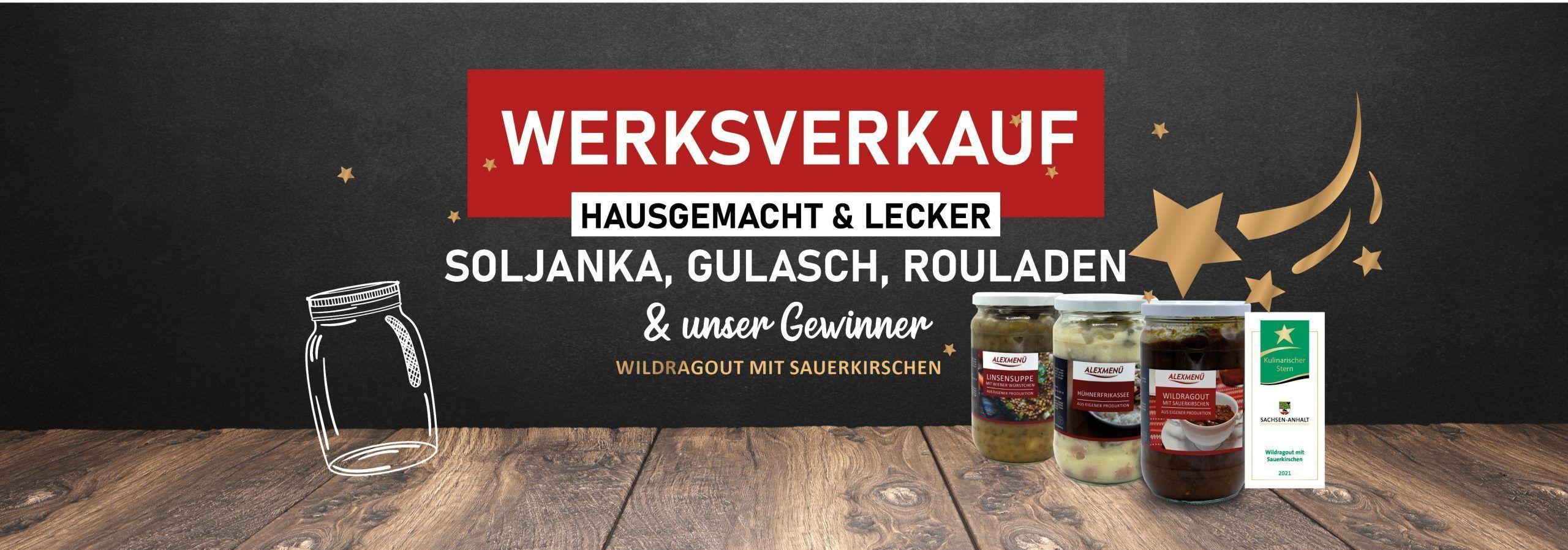 Header Werksverkauf&Kulinarischer Stern