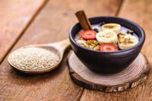 Porrigde-mit-Quinoa