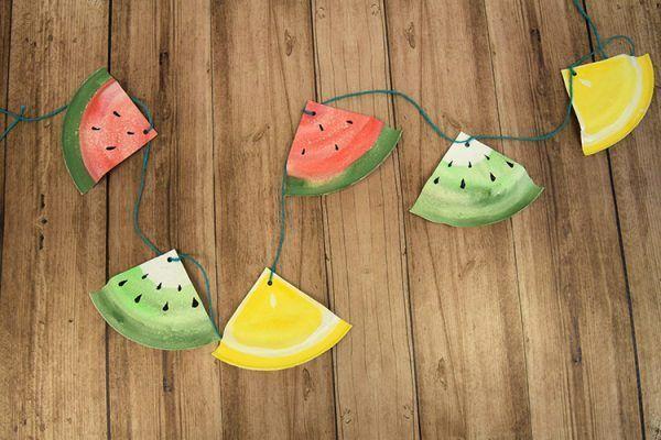 FruchtigePartygirlande