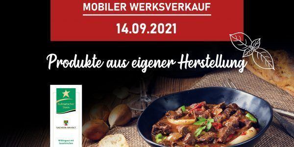 Termin Mobiler Werksverkauf 09.2021