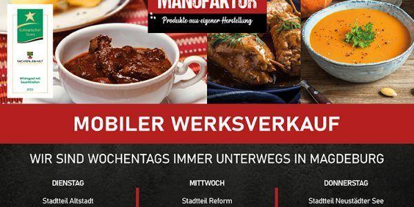 Mobiler Werksverkauf auf den Wochenmärkten in Magdeburg