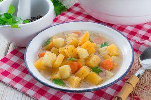 Steckrüben-Karotten-Eintopf